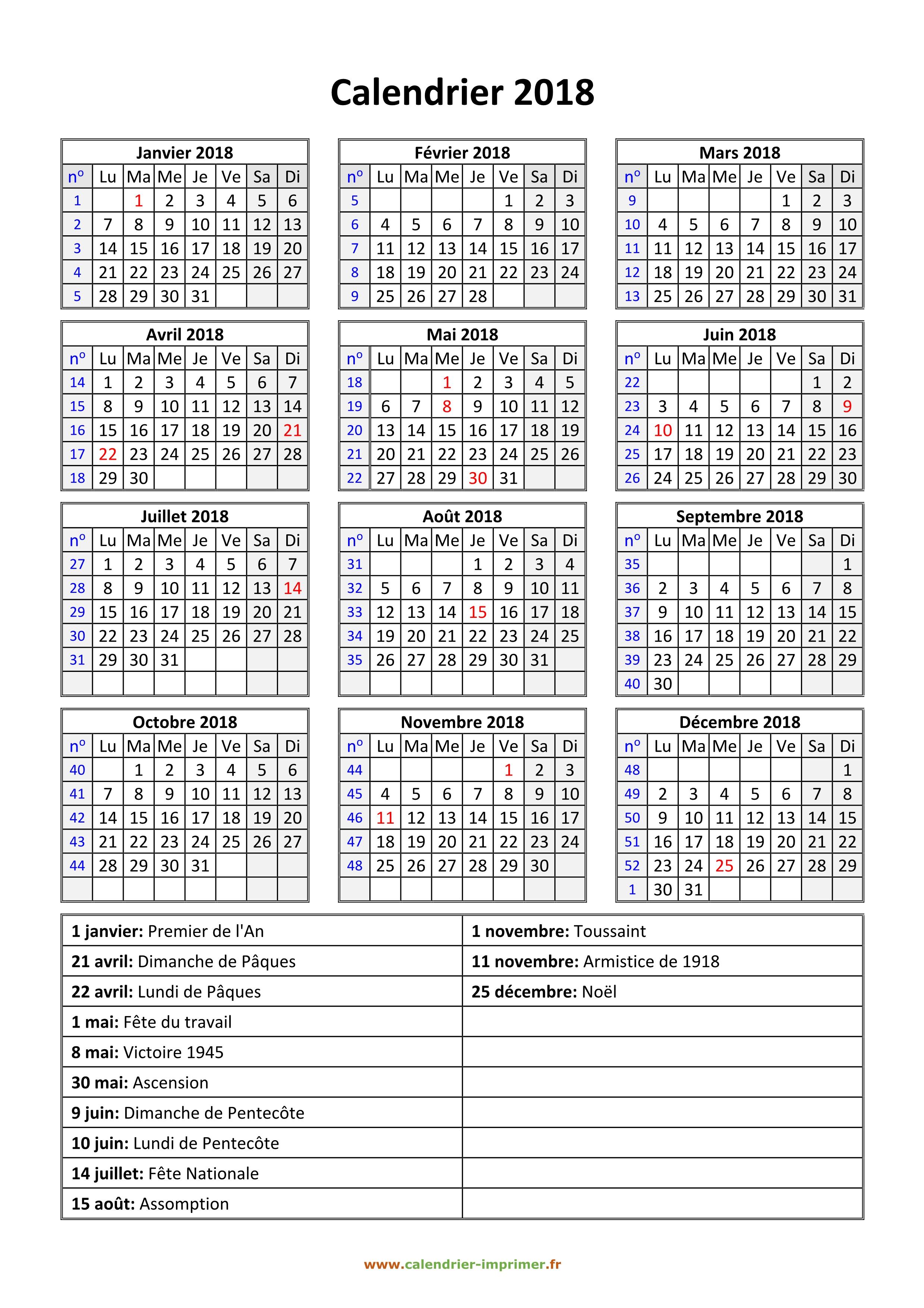 Calendrier 2019 Semestre 1.Calendrier 2019 A Imprimer Gratuit