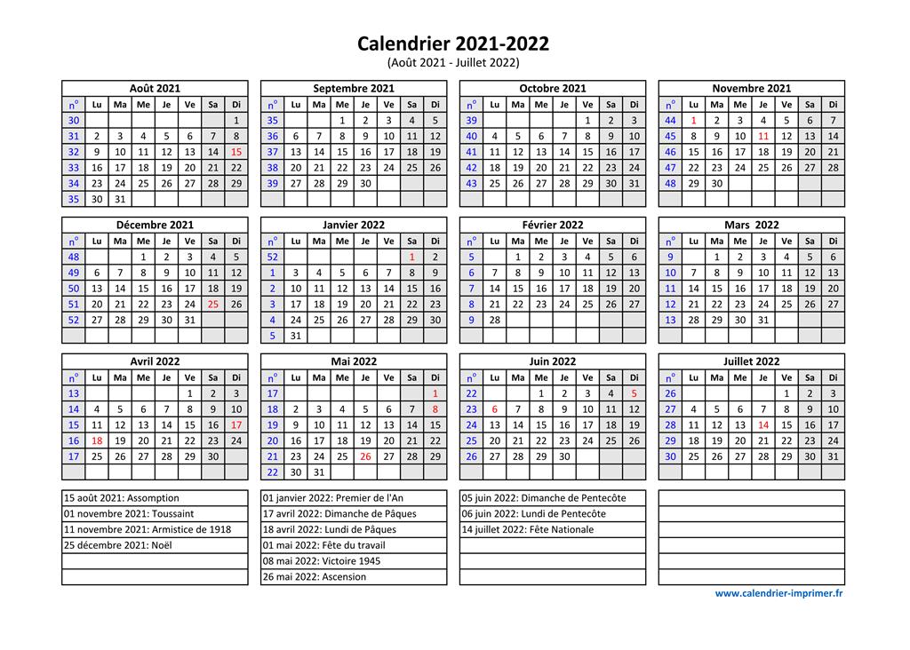 Calendrier Avril Mai Juin 2022 à Imprimer Calendrier 2021 2022 à imprimer